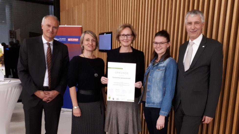 Wir sind dabei! European Award for Ecological Gardening 2019