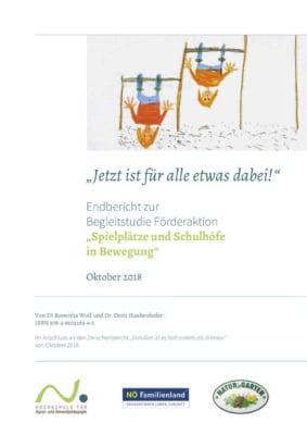 """Titelblatt: Studie """"Jetzt ist für alle etwas dabei"""""""