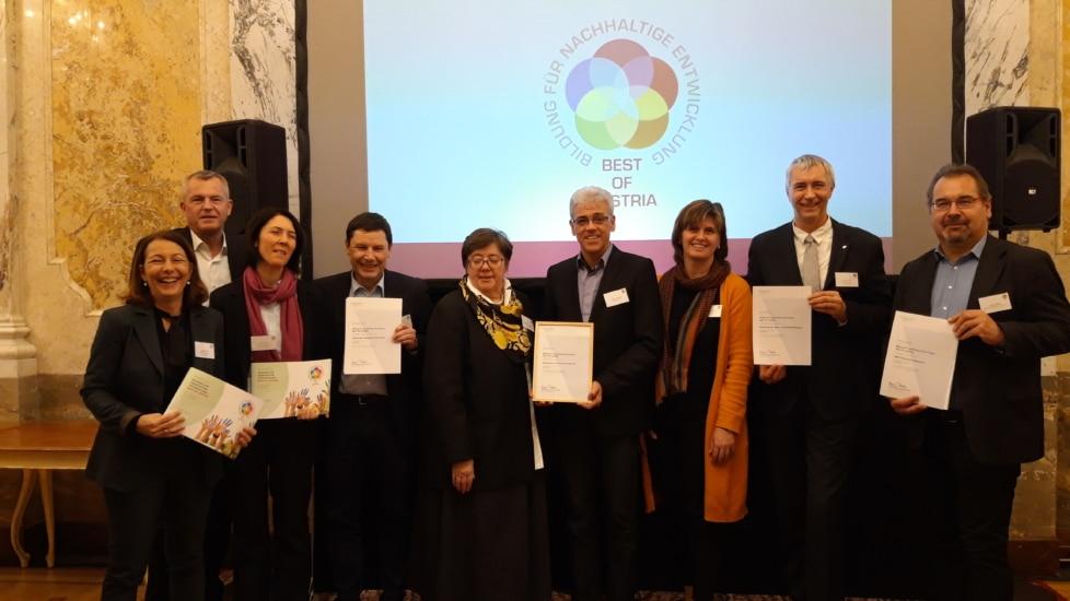 """""""Lernraum Natur"""" erhält Auszeichnung: BEST OF AUSTRIA!"""
