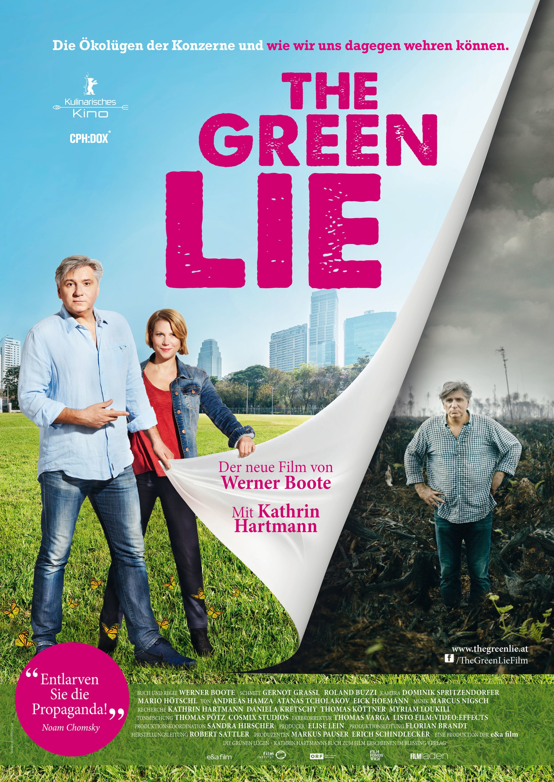 Green Lie Plakat