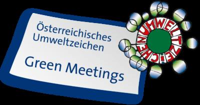 Österreichisches Umweltzeichen - Green Meetings