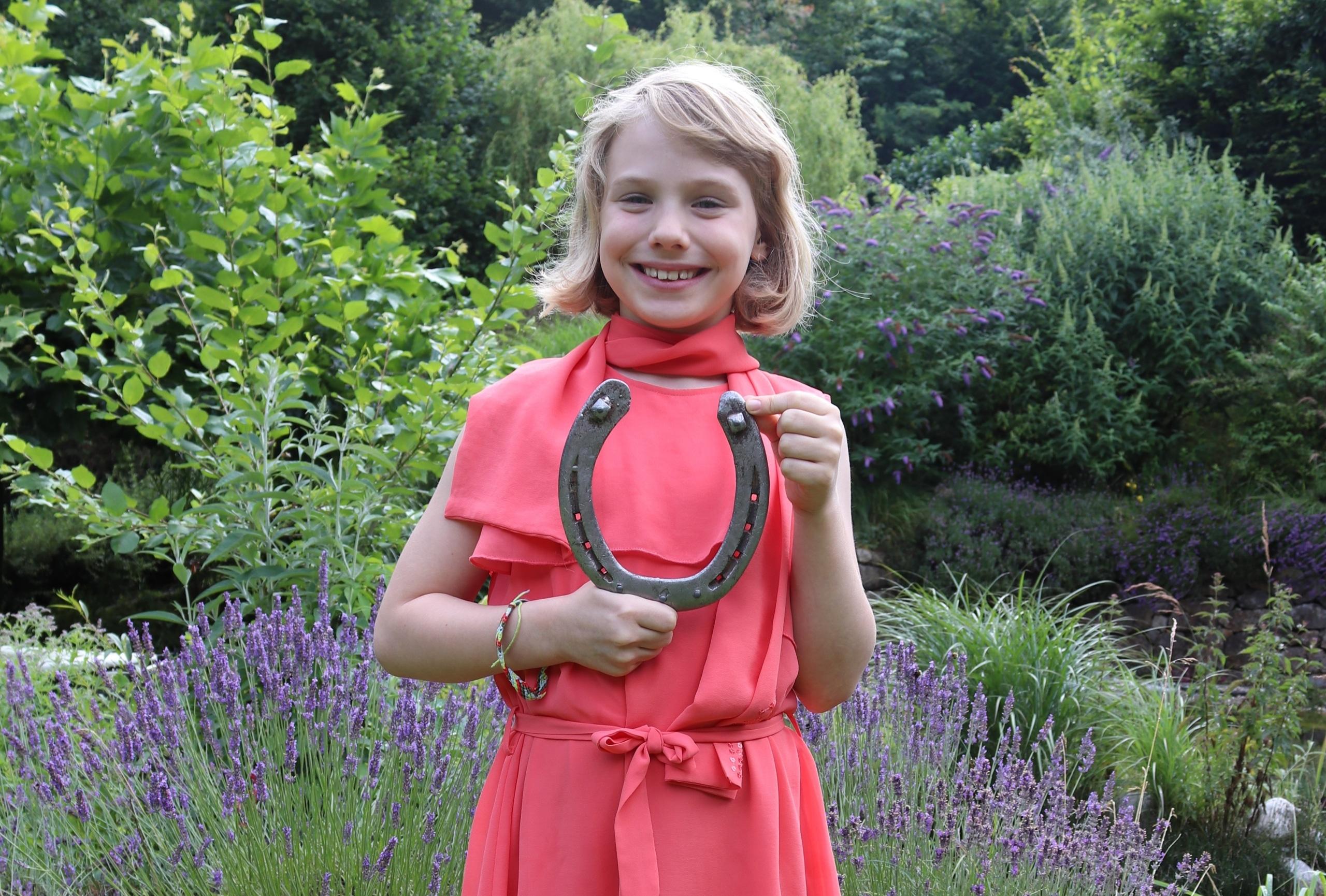 Sophie Ollinger ist eine begeisterte junge Botschafterin der Kultur im Pferdesport. © Dr. Thomas Ollinger