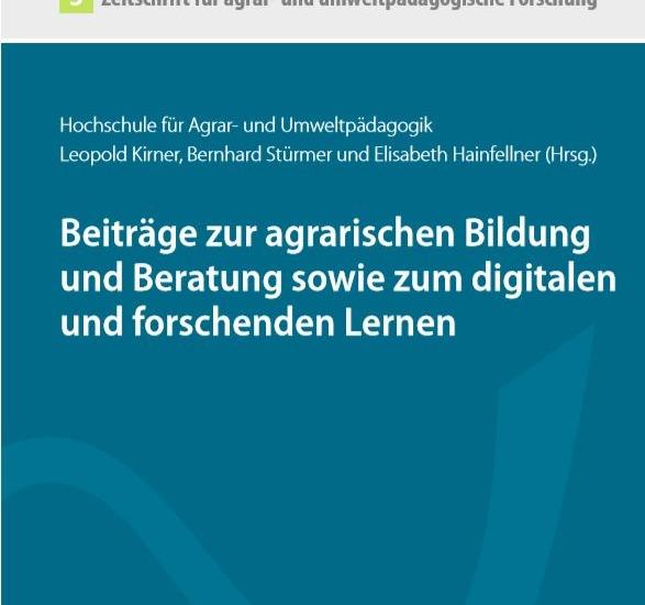 Zeitschrift für agrar- und umweltpädagogische Forschung – Band 3