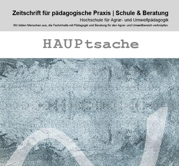 Neuerscheinung: HAUPtsache Pädagogische Zeitschrift